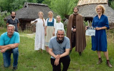 Dreh- und Schnittbeginn von 'Das Märchen vom Goldenen Taler'